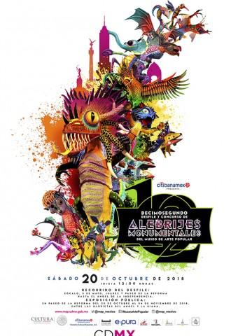 12° Desfile y Concurso de Alebrijes Monumentales