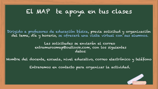 El MAP te apoya en tus clases